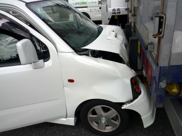 交通事故写真 烏丸鍼灸整骨院