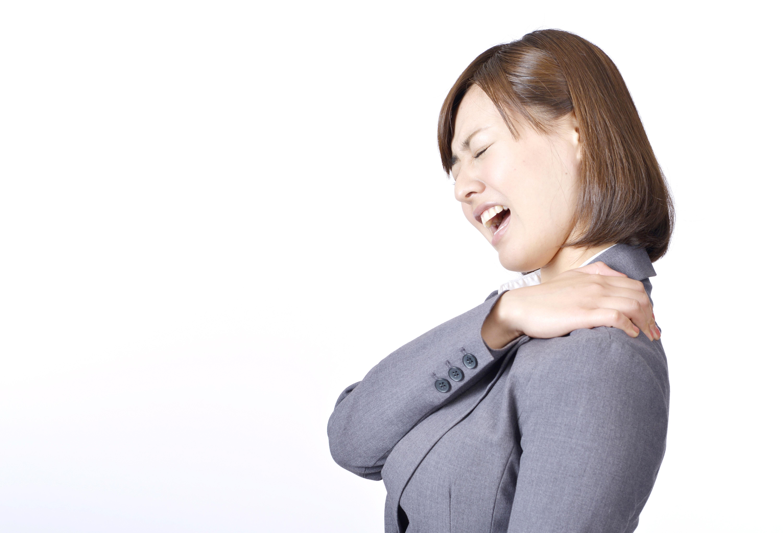 京都市中京区烏丸御池・四条烏丸の鍼灸整骨院 烏丸鍼灸整骨院の肩こり写真